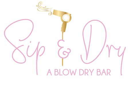 Sip & Dry Blow Bar